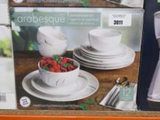 Arabesque dinner ware set