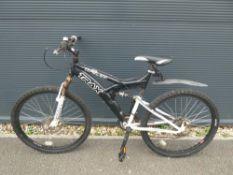 Black Trax mountain bike