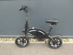 Jetson Bolt electric bike no charger