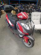 4137 Lexmoto Gladiator 125cc scooter no MOT