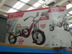 Box Schwinn tricycle