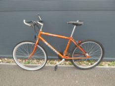 Orange Apollo mountain bike