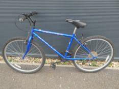 Blue Apollo mountain bike