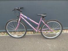 4032 Sabre purple girls bike