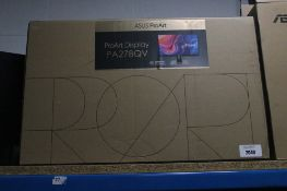 Asus Proart Display model PA278QV with box
