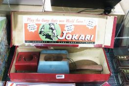 Jokari The Greatest Pool Game Ever Invented paddle set with box