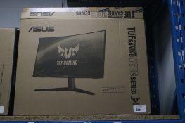 Asus TUF Gaming VG1B Series 27'' curve screen monitor with box