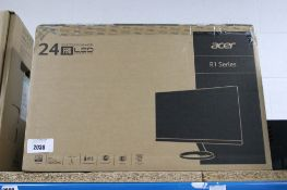 Acer R1 Series 24'' monitor with box
