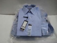 Bag containing 12 Kirkland checked shirts