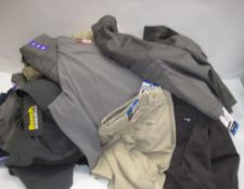 Large bag of gents assorted shorts by Hangten, Bench, Jerry, Union Bay, etc in various styles,