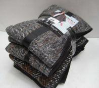 Bundle of 5 reversible fashion wraps by Ellen Reyes