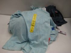 Bag containing approx 30 ladies Champion t-shirts, predominantly light blue, various sizes