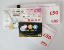 Love 2 Shop (x4) - Total face value £120