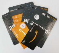 Amazon (x6) - Total face value £200