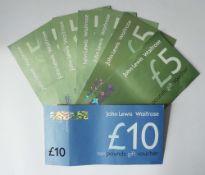 John Lewis (x2) - Total face value £45