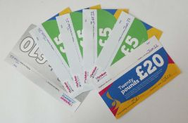 Parkdean Resorts (x1) - Total face value £50