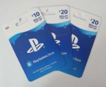 Playstation (x3) - Total face value £50