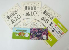 Various (x6) - Total face value £99.50