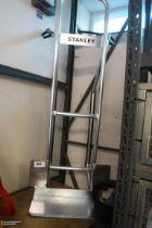 Stanley aluminium sack barrow frame, no wheels