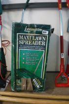 Boxed Levington Maxi lawn seed spreader