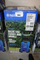 Boxed Nilfisk C120.7 electric pressure washer