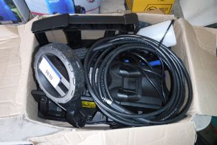 Unboxed Nilfisk electric pressure washer