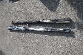 2 bundles of Shakespeare branded fishing rods