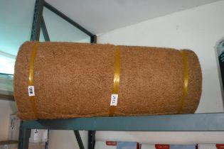 Large roll of hanging basket lining