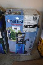 (1008) Boxed Nilfisk C120.7 electric pressure washer