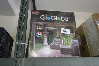 Glow Globe LED outdoor light