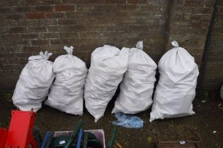 5 large bags of wooden off cuts