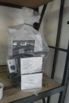 Bag of solar post lights