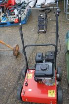 Briggs & Stratton push along petrol powered scarifier