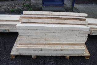 Large quantity of approx 3x2 wooden lengths
