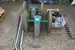 (1114) Quantity of motorized Allen Scythe parts
