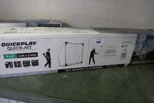Quickplay Quick Hit golf net, size 8x8