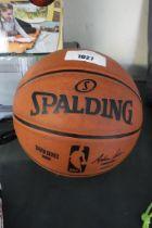 Spalding basket ball