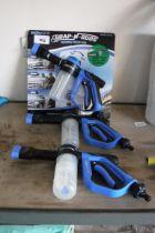 3 Bonaire foaming wash guns