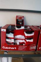 Box containing 4 piece BBQ sets