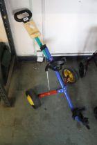(1080) Childs golf trolley