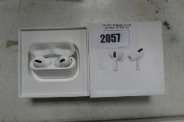 2093 Boxed pair of Apple AirPods Pro with wireless charging case and box