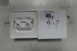 2100 Boxed pair of Apple AirPods Pro with wireless charging case and box