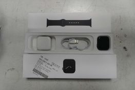 Apple iPhone series 5 space grey aluminium case, 44mm watch model A2093 with box