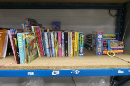 Large selection of children's books, puzzle books, paperback novels etc