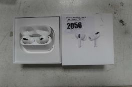 2105 Boxed pair of Apple AirPods Pro with wireless charging case and box