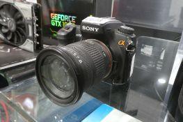 Sony A700 DSLR camera inc. lens, no battery