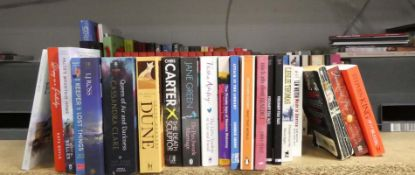 Selection of hardback and paperback books inc. multiple copies of Cardinal Sin by Bryan Devlin