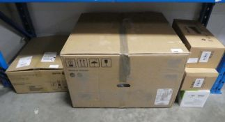 Xerox printer drum cartridge loader and paper loading kits together with toner cartridges