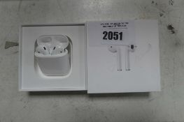 2089 Boxed pair of Apple AirPods 1st gen with charging case
