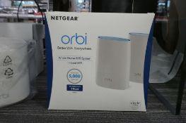 Netgear Orbi tri-band home wifi system (boxed)